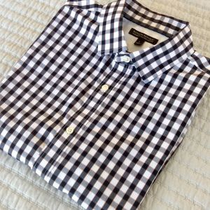 Banana Republic non-iron button down shirt- Large